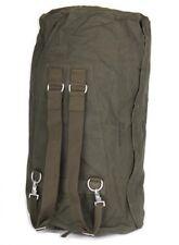 < ORIG. BW BUNDESWEHR SEESACK mit Reißverschluss / Tasche Rucksack Transportsack