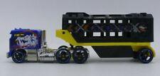 Mattel Hot Wheels Track Stars BLUE Caged Cargo DIE CAST TOY TRUCK
