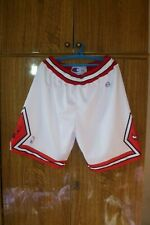 Chicago Bulls Champion NBA Shorts #7 Ben Gordon Basketball White Men Size 2XL