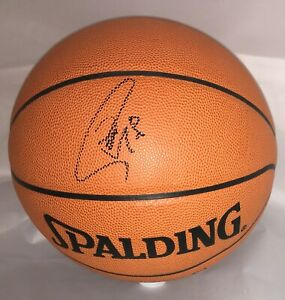 STEPHEN CURRY SIGNED OFFICIAL NBA GAME BALL SPALDING BASKETBALL JSA LOA BB61269
