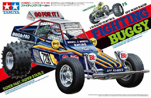 Tamiya 1/10 R/C Fighting Buggy (2014) 2WD Off Road Racer DT-01 Chassis – Speci