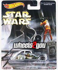 34 CHRYSLER AIRFLOW - Star Wars - 2016 Hot Wheels Pop Culture REAL RIDERS