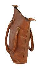Real Leather Brown Vintage Women's Bucket Bag
