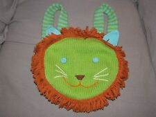 """Blabla Childrens Backpack Approx 10"""" Lion 100% cotton made in Peru knit Backpack"""