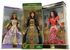 New BARBIE DOLL Lot of 3 BRAND NEW DOLLS Bohemian Glamour PRINCESS IRELAND & PEA