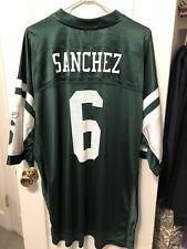 Mark Sanchez New York Jets Reebok On Field Jersey Size XXL