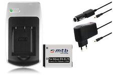 Baterìa+Cargador EN-EL19 ENEL19 para Nikon CoolPix S2500, S2550, S3100