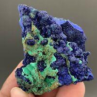 Natural azurite malachite mineral crystal specimen   T258