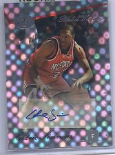 2006-2007 Bowman Elevation Basketball Cedric Simmons Hornets Autographed RC