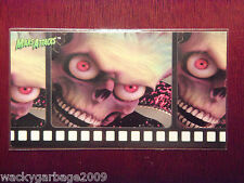 1996 Topps MARS ATTACKS! Widevision Movie Cards Promo Card with Green MA! Logo