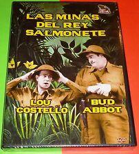 LAS MINAS DEL REY SALMONETE / Abbott & Costello - Precintada