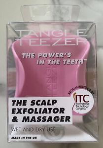 Tangle Teezer The Scalp Exfoliator & Massager Pink NEW