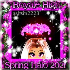 Royale High ROBLOX NEW! Spring Halo 2021 (Read Description!)