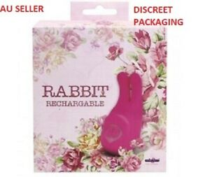 USB Rabbit Ears Rechargeable Vibrator Discreet Clit Tickler
