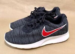 Men's Nike Tanjun Premium 'Oil Grey Red' Size 10.5 [Brand New Without Shoe Box]