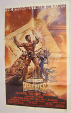 HERCULES Lou Ferrigno Original 1983 1 Sheet Drew Struzan Movie Poster 27x41