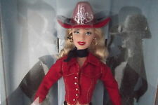 Western Chic Cowgirl Red Cowboy Hat Boots Barbie Doll
