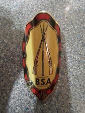 BSA imprimé insigne métallique. nos, couleurs éclatantes. mint original stock. brillant!