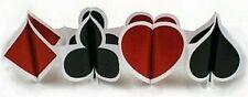 Card Suit Poker Casino Printed Garland 12ft Party Decoration Supplies