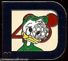 Disney Pin: WDW Hidden Mickey 2011 - Classic 'D' Part 2: Louie