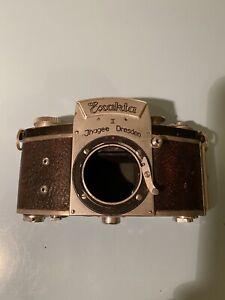 Exakta ii camera body Jhagee Dresden