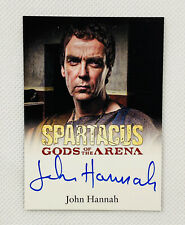 Spartacus 2011 Gods Of The Arena John Hanna as Batiatus Autograph Rare!!
