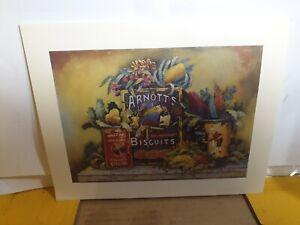Arnotts biscuits print no frame 255mm w x 210mm h
