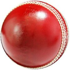 "Special plane Red Leather Cricket Ball"" Pack of 3 + Shipping"