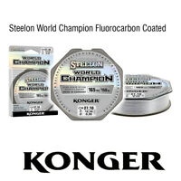 150m ANGELSCHNUR STEELON WORLD CHAMPION FLUOROCARBON COATED LINE MONOFILE SCHNUR