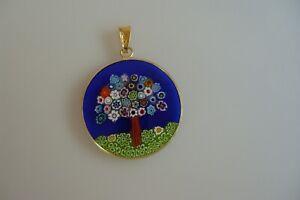 Pendants Made Of Original Murano Glass Jewelry Murano Unique Handmade Ø 26 Neu