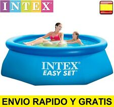 Piscina hinchable desmontable 183 X 51 cm 886 litros Intex Easy set