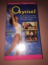 1008) Oxycise Level 1 - 15-Minute Workout Jill Johnson 1998 VHS OXSLV002