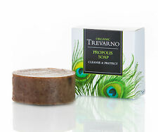 Trevarno - Organic Propolis Soap, handmade with natural oils / butters