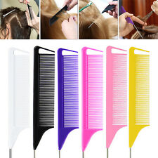 Fine-tooth Rat Tail Comb for Hair Highlighting Hairdressing Combs Styling Tools.