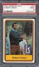 1981 Donruss Golf #50 Hubert Green PSA 9 Mint 15431027