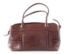 Brunello Cucinelli Bag Luxurious Rich Brown Crocodile Tote