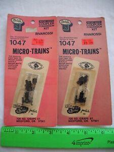 Lot of 2 Kadee 1047, Coupler Conversion Kit, Rivarossi, Micro-Trains MTL,N Scale
