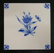 Vintage Dutch Tile Floral Holland