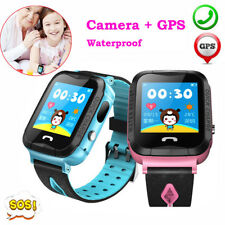 Waterproof Kids Smart Watch GPS Tracker SOS Call for Boys Girls Children Gift