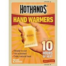 1 Pair HotHands Hand & Body Warmer up to 10 Hours Safe Max Heat Warmers
