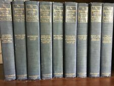 THE LITERARY DIGEST HISTORY OF THE WORLD WAR (WWI) Francis W. Halsey, Vols. 1-9