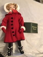"Shirley Temple - Little Caroler 17"" Christmas Doll by Danbury Mint"