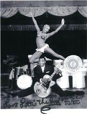 Signed Lottie The Body Stripper Striptease Exotic Dancer Burlesque 8x10 BW Photo