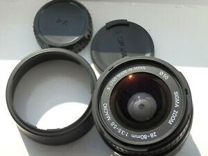 Sigma 28-80mm 1:3.5-5.6 Aspherical Macro Zoom Lens,  #3264269, Pentax K / PK