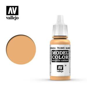 Vallejo Model Color 845 - Sunny Skin Tone (70.845) 17ml