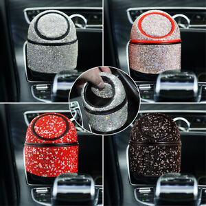 Small Car Trash Can Mini Trash Can Cup Holder Trash Can Garbage Can Bin for Car