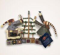 Williraye Studios * FARM YARD FESTIVITIES * Set Of 3 New In Box Figurines 2005