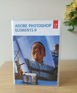 Photoshop Elements 9 DVD for Windows and MAC - ex condition
