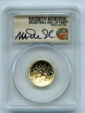 2020 W $5 Basketball Hall Fame Gold Commemorative PCGS PR70DCAM FS Magic Johnson
