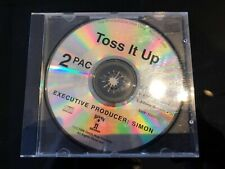 2Pac - Toss It Up - US 3 Track Promo CD - 1996 - Makaveli - Death Row